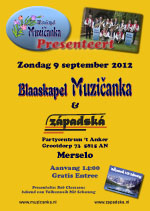 Blaaskapel Muzičanka Presenteert in Merselo